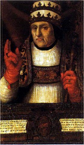 Alfonso de borja obispo de valencia y papa calixto iii
