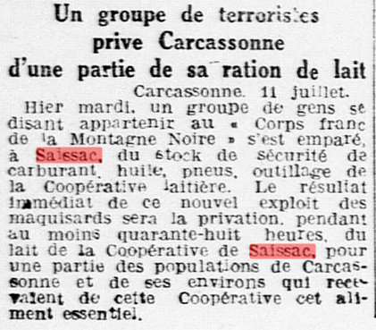 L eclair 12 juillet 1944